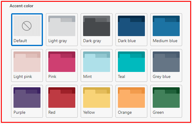 How to Enable Accent Color Theme in Microsoft Edge